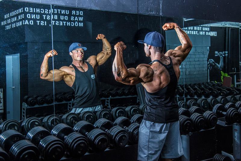 Bodybuilding Portrait Christian Wormstall