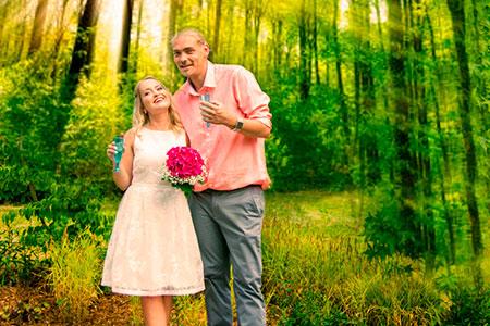 Hochzeit Swetlana und Marcel Burmann