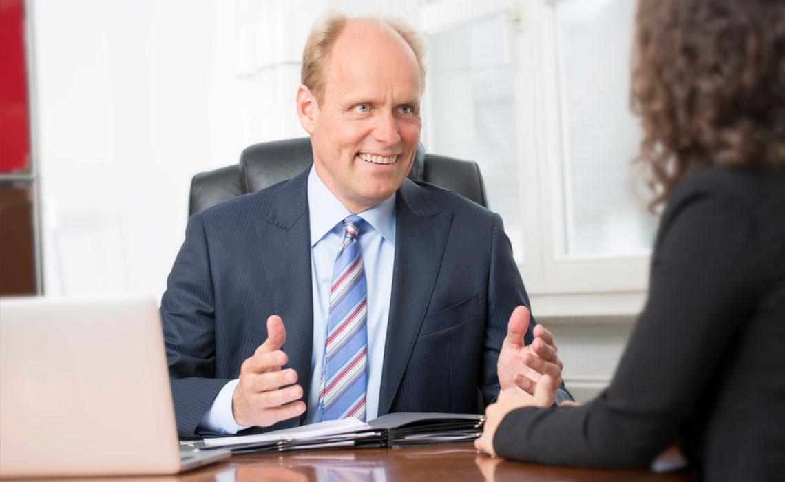 Businessportrait Dr. Gisbert Stalfort